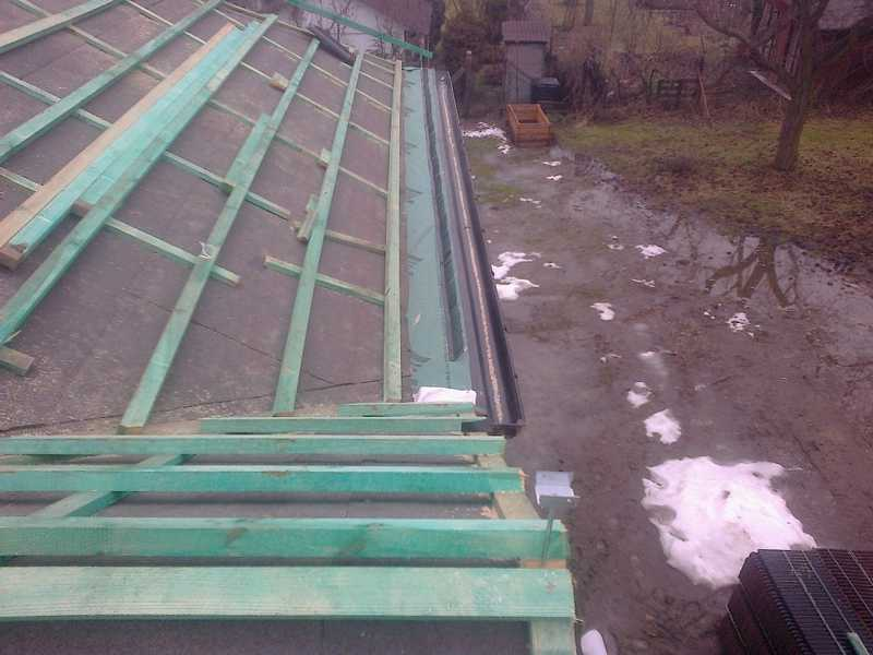 Montaż łat i kontrałat oraz pasa nadrynnowego pod dachówke Creaton Balance w Ostrowie Wielkopolskim