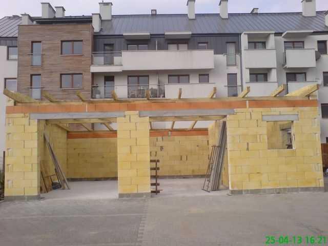 Montaż więźby dachowej , usługi ciesielskie w Ostrowie Wlkp