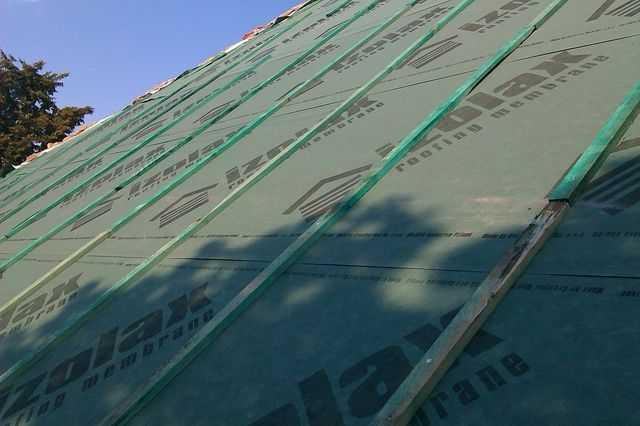 membrana dachowa i kontrałaty