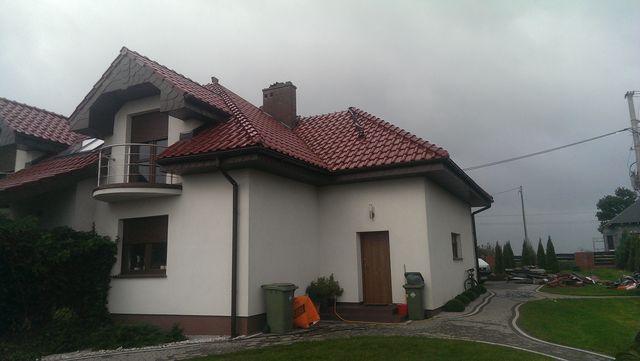 Naprawa pokrycia dachowego z dachówki