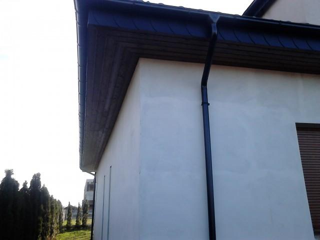 Podbitka na narożniku dachu