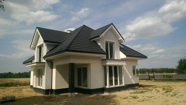 Pokrycie dachowe - antracyt glazurowany