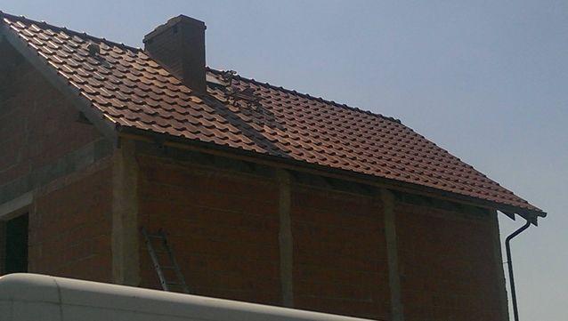 Pokrycie z wykorzystaniem dachówki KORAMIC