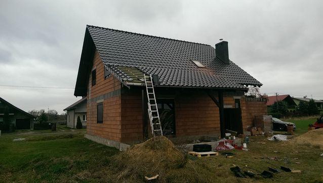 Dach deskowany